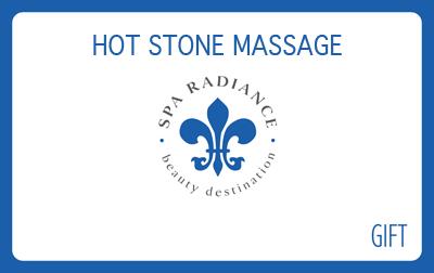 Spa Radiance Hot Stonoe Massage Gift Card