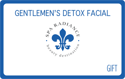 Gentleman Detox Facial Gift Card | Spa Radiance | San Francisco Day Spa