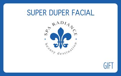 Spa Radiance Super Duper Gift Card