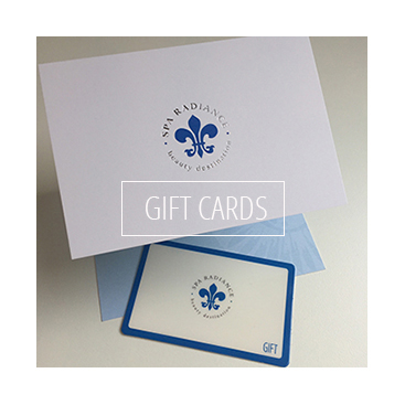 Purchase Spa Radiance Gift Cards