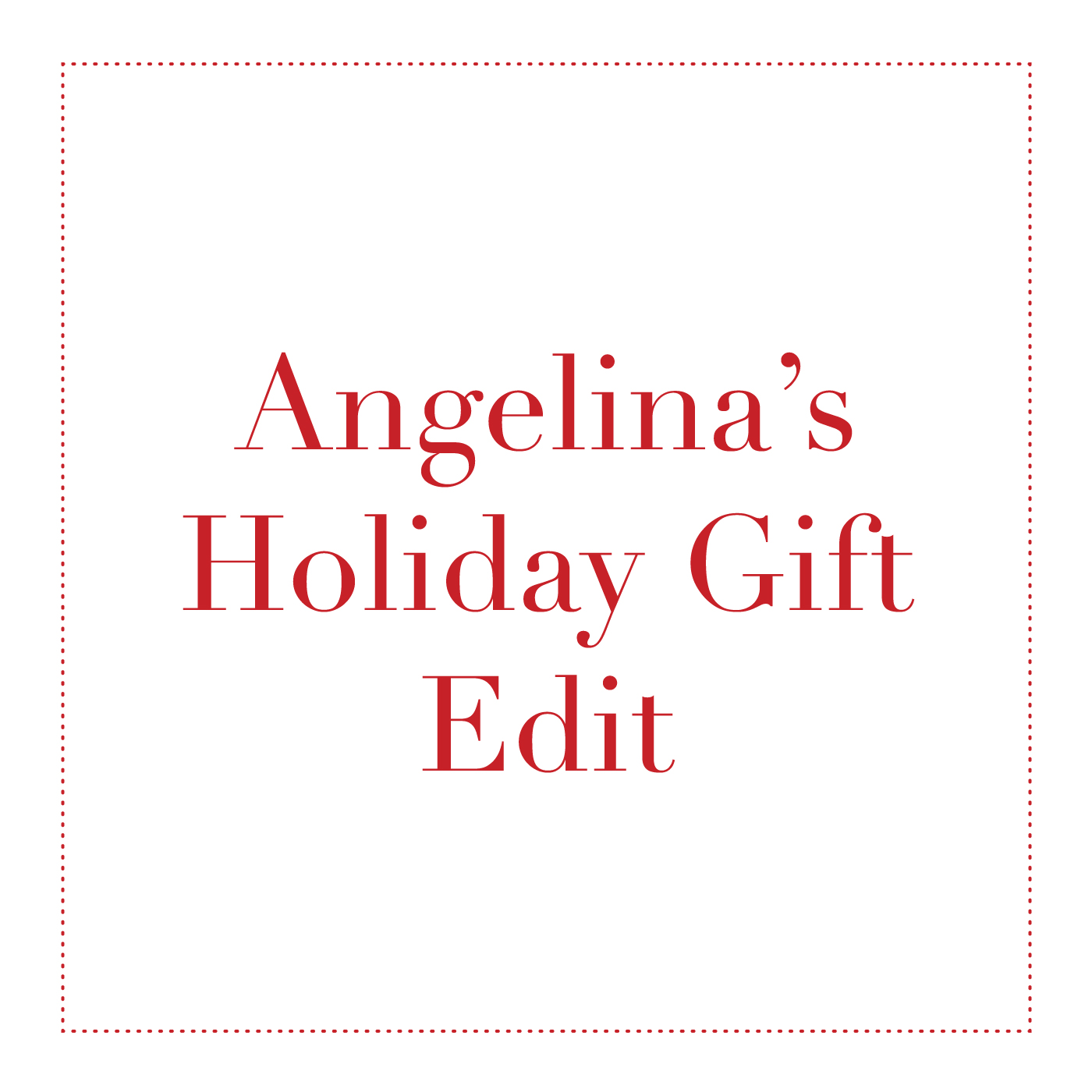 Angelina's Holiday Gift Edit | Spa Radiance | San Francisco Day Spa